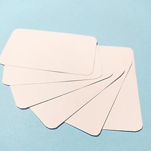 Combo 500 thẻ flashcard trắng Không Đục Lỗ dùng học từ vựng tiếng Anh, Nhật, Hàn, Hoa, Đức - Flashcard Phan Liên