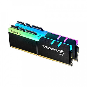 Hình đại diện sản phẩm Ram PC G.SKILL Trident Z full length RGB DDR4 Kit 32GB Bus 3000 Black CL16 XMP (2x16GB) F4-3000C16D-32GTZR - Hàng Chính Hãng