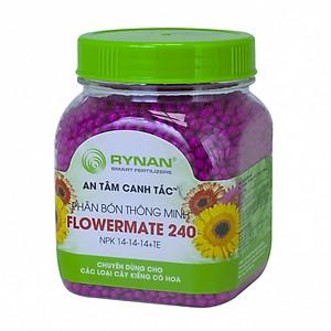 Hình đại diện sản phẩm Phân Bón Rynan Flowermate 240 (Hủ) - Phân Bón Thông Minh Phân Giải Chậm - Dùng cho Các Loại Hoa Kiểng, Phong Lan
