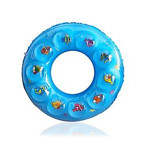 Hình đại diện sản phẩm Phao bơi cho bé (Từ 3-6 tuổi) phao 2 LỚP - size 60, phao bơi tròn PVC - POKI