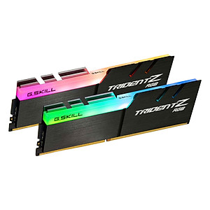 Hình đại diện sản phẩm Bộ 2 Thanh RAM PC G.Skill F4-3000C16D-16GTZR Trident Z RGB 8GB DDR4 3000MHz UDIMM XMP - Hàng Chính Hãng