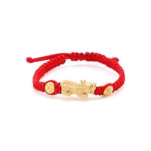 Hình đại diện sản phẩm Vòng Tay Handmade Vàng 24K Tỳ Hưu Kim Tiền Phú Quý - ANCARAT