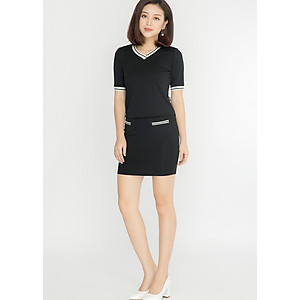 Hình đại diện sản phẩm Chân váy nữ dáng ôm LAMER L62F17T035-S1400 (Đen)