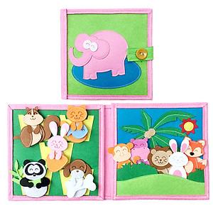 Hình đại diện sản phẩm Sách Vải Động Vật - Dành Cho Bé Từ 1-6 Tuổi