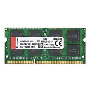 Hình đại diện sản phẩm Genuine Original Kingston KVR Notebook RAM 1600MHz 8G 1.35V Non ECC DDR3 PC3L-12800 CL11 204 Pin SODIMM Motherboard - 8GB