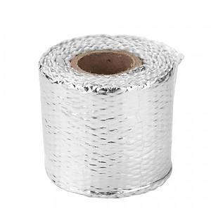 Hình đại diện sản phẩm 1m Fiberglass Heat Exhaust Wrap Roll Motorcycle Car Heat Insulated Wrap Turbo Intake Manifold Heat Wrap Practical Heat