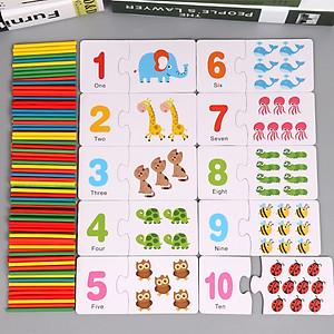Hộp Thẻ Học Flashcard Cho Bé Học Đếm Tiếng Anh Và Học Toán -THEHUOUCAOCO