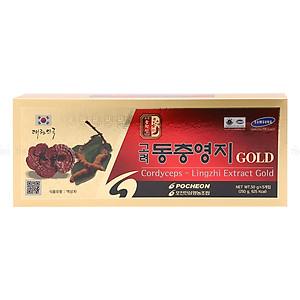 Hình đại diện sản phẩm Cao Linh Chi Đông Trùng Hạ Thảo Pocheon Hàn Quốc (50g X 5 Lọ)