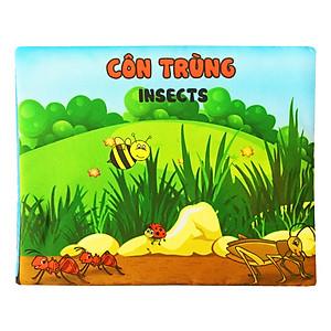 Hình đại diện sản phẩm Sách Vải Pipovietnam Chủ Đề Côn Trùng