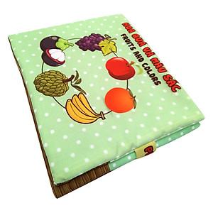Hình đại diện sản phẩm Sách Vải Trẻ Em Pipovietnam Hoa Quả