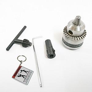 Hình đại diện sản phẩm Đầu chuyển đổi motor 775 thành máy khoan đầu măng ranh motor 775 + tặng móc khóa kĩ thuật