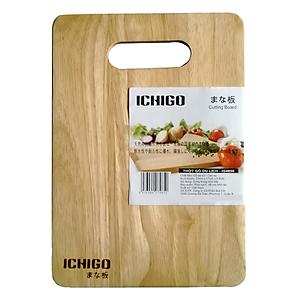 Thớt gỗ xà cừ Ichigo IG-4850 (17 x 24 cm)