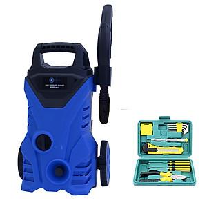 Hình đại diện sản phẩm Combo Máy xịt rửa xe cao áp Kachi MK73 súng ngắn + Bộ dụng cụ 12 món