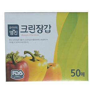 Hình đại diện sản phẩm Bộ 50 Găng tay Myungjin sinh học (size 24 x 28cm) cao cấp Hàn Quốc