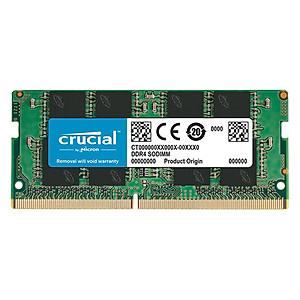 Hình đại diện sản phẩm RAM Laptop Crucial 4GB DDR4 2666MHz SODIMM - Hàng Nhập Khẩu