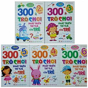 Hình đại diện sản phẩm Combo 300 Trò chơi Phát Triển Trí Tuệ cho trẻ - ( 2 Tuổi, 3 tuổi, 4 Tuổi, 5 Tuổi, 6 Tuổi)