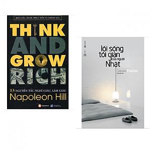 Hình đại diện sản phẩm Combo 13 Nguyên Tắc Nghĩ Giàu Làm Giàu - Think And Grow Rich + Lối sống Tối Giản của người Nhật ( Bộ 2 cuốn kỹ năng sống và làm giàu )