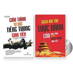 Hình đại diện sản phẩm Combo 2 sách: Giáo trình tự học tiếng Trung giao tiếp + Sách bài tập thực hành của giáo trình tự học tiếng Trung giao tiếp + DVD quà tặng