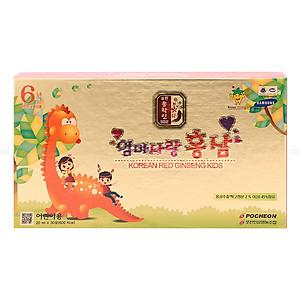 Hình đại diện sản phẩm Nước Hồng Sâm Trẻ Em Pocheon Hàn Quốc (20ml X 30 Gói)