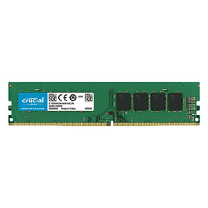 Hình đại diện sản phẩm RAM Desktop Crucial 8GB DDR4 2400MHz UDIMM - Hàng Chính Hãng