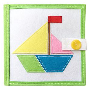 Hình đại diện sản phẩm Sách vải Hình Khối (Bé 1 - 6 Tuổi)