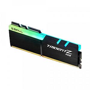Hình đại diện sản phẩm Ram PC G.SKILL Trident Z full length RGB DDR4 8GB Bus 3000 Black CL16 XMP (1x8GB) F4-3000C16S-8GTZR - Hàng Chính Hãng