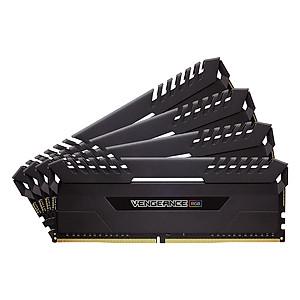 Hình đại diện sản phẩm Bộ 4 Thanh RAM PC Corsair Vengeance RGB 8GB DDR4 3000MHz LED RGB - Hàng Chính Hãng
