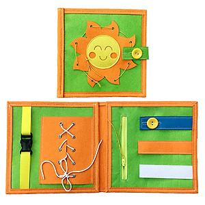 Hình đại diện sản phẩm Sách Vải Vận Động Tinh - Dành Cho Bé Từ 1-6 Tuổi