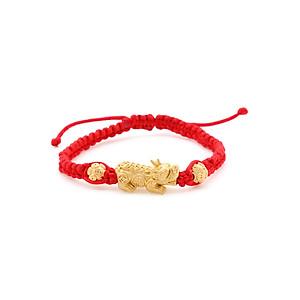 Hình đại diện sản phẩm Vòng Tay Handmade Vàng 24K Tỳ Hưu Kim Tiền Tài Lộc - ANCARAT