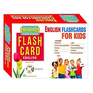 Flashcard Dạy Trẻ Theo Phương Pháp Glenn Doman - Tiếng Anh Cho Bé (Tái Bản)