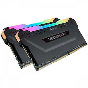Hình đại diện sản phẩm Bộ 2 Thanh RAM PC Corsair Vengeance RGB Pro 8GB DDR4 2666MHz RGB CMW16GX4M2A2666C16 - Hàng Chính Hãng