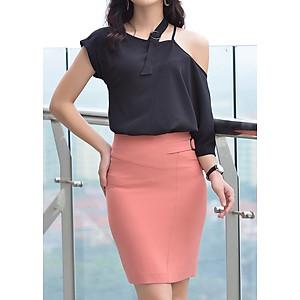 Hình đại diện sản phẩm Chân Váy Nữ Rosy Belle CV528 - Hồng