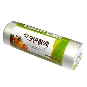 Hình đại diện sản phẩm Set 200 túi đựng thực phẩm Myungjin sinh học (size 25 x 35cm) nội địa Hàn Quốc(Asobu)