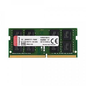 Hình đại diện sản phẩm Ram laptop Kingston DDR4 16GB (1x16GB) Bus 2666Mhz SODIMM KVR26S19D8/16 - Hàng Chính Hãng