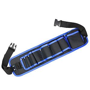 Hình đại diện sản phẩm RAYENR electrician pocket bag kit repair kit thickening belt adjustable multi-function waterproof Oxford cloth electric tool kit tool bag waist bag NR0106