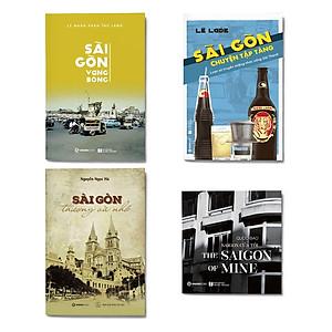 Hình đại diện sản phẩm Combo 4 cuốn Chuyện kể Sài Gòn: Sài Gòn vang bóng + Sài Gòn chuyện tập tàng + Sài Gòn thương và nhớ + Sài Gòn của tôi