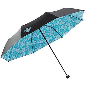 Hình đại diện sản phẩm Paradise umbrella 30% clear umbrella glass fiber umbrella bone black plastic small black umbrella sunscreen umbrella cut Hanmei 17YJHM 55cm*8k 2# rose red
