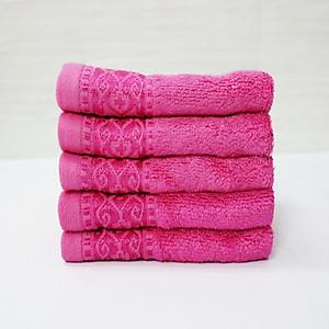 Combo 3 khăn sợi tre Nam Phong - 30x50 cm - màu hồng