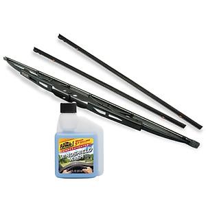 Hình đại diện sản phẩm Combo Gạt mưa VIAIR 915 (14 trong 1) (18 inch/450 mm)-Lưỡi gạt mưa loại A VIAIR R15 (18 inch/450 mm)