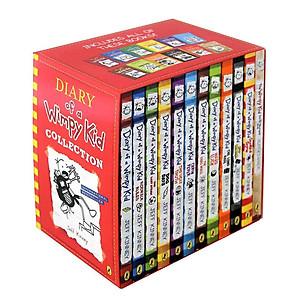 Hình đại diện sản phẩm Diary Of A Wimpy Kid: Wimpy Kid 12 Books Set - Nhật Ký Chú Bé Nhút Nhát