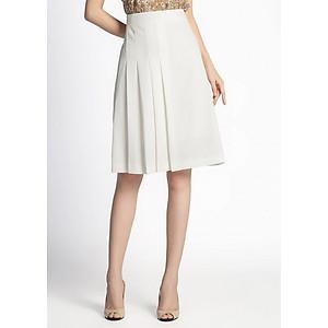 Hình đại diện sản phẩm Chân Váy Nữ A Xếp Li Lệch De Leah