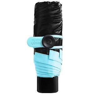 Hình đại diện sản phẩm BlackLemon nano black lemon pocket parasol sun umbrella small black umbrella sun umbrella black plastic umbrella five fold umbrella macaron blue