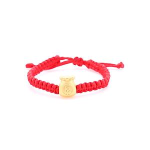 Hình đại diện sản phẩm Vòng Tay Handmade Vàng 24K Túi Kim Tiền- ANCARAT
