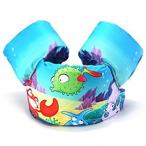 Hình đại diện sản phẩm Phao bơi trẻ em CÁ GAI (Bé từ 2 - 8 tuổi), phao bơi đeo tay tiêu chuẩn EU - POKI