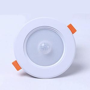 Hình đại diện sản phẩm Đèn cảm biến chuyển động âm trần - Đèn LED cảm biến hồng ngoại âm trần cho Airbnb & Homestay