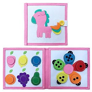 Hình đại diện sản phẩm Sách Vải Baby Màu Sắc - Dành Cho Bé Từ 0-2 Tuổi