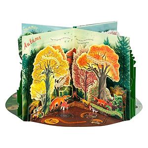 Hình đại diện sản phẩm A Year in Nature: A Carousel Book of the Seasons (Pop-Up)