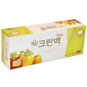 Hình đại diện sản phẩm Bộ 100 túi đựng thực phẩm Myungjin sinh học (size to 25 x 35cm) cao cấp Hàn Quốc