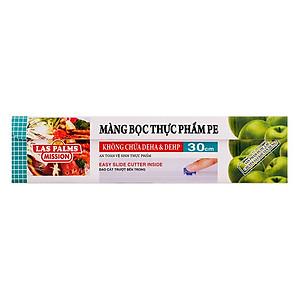 Hình đại diện sản phẩm Màng Bọc Thực Phẩm PVC Laspalms MBTP13090092 (30cm x 120m)