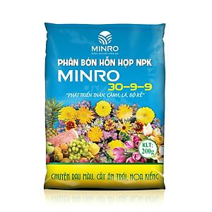 Hình đại diện sản phẩm Phân bón hổn hợp NPK Minro 30 - 9 - 9 (1kg)
